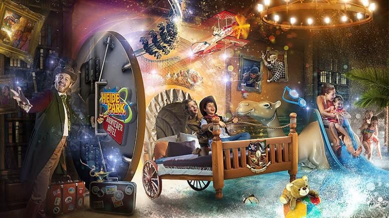 Heide Park Resort - Abenteuerhotel Westernzimmer 02