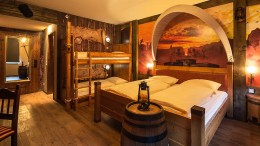 Heide Park Resort - Abenteuerhotel Westernzimmer