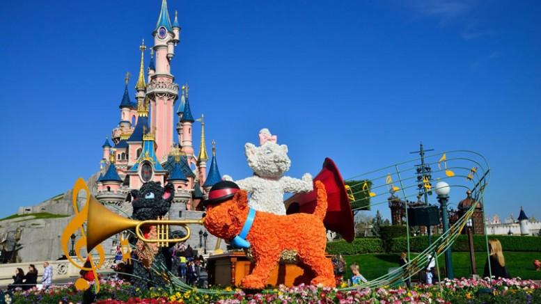 Im Disneyland Paris wird der Frühlingsanfang gefeiert