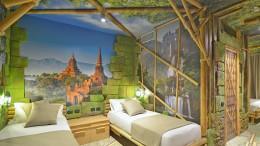 Jungle Adventure Themenzimmer im Gardaland Adventure Hotel