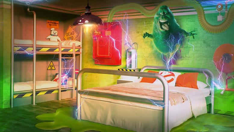 Ghostbusters-Zimmer im Heide Park Abenteuerhotel