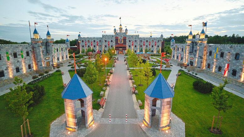 Burgen im Legoland Deutschland Resort